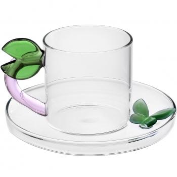Designové šálky na kávu Fruits & Flowers Coffee Cup Leaf