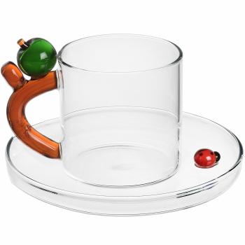 Designové šálky na kávu Fruits & Flowers Coffee Cup Apple