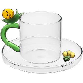 Designové šálky na kávu Fruits & Flowers Coffee Cup Snail