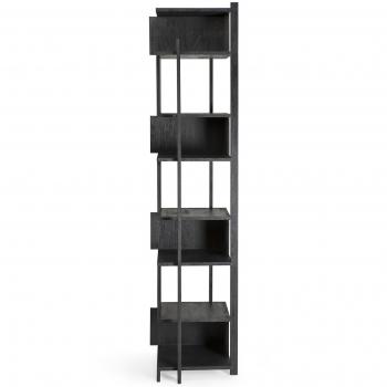 Designové knihovny Abstract Black Column