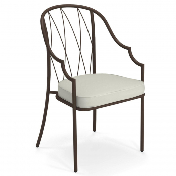 Designové zahradní židle Como Armchair Tall Back