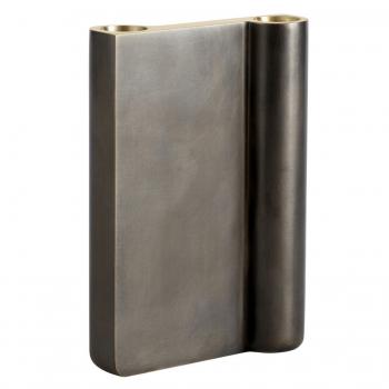 Designové svícny Collect Candleholder Bronzed Brass