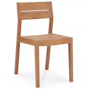 Designové zahradní židle Teak EX 1 Outdoor Dining Chair