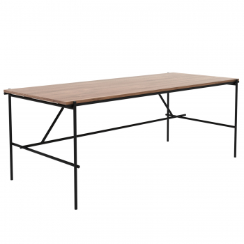 Designové pracovní stoly Teak Oscar Desk