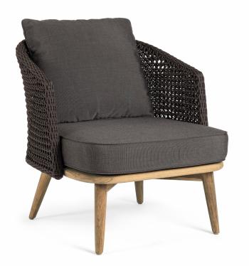 Designová křesla Ninfa Dark Armchair
