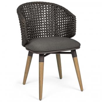 Designové židle Ninfa Dark Chair