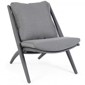 Designová křesla Aloha Charcoal Armchair