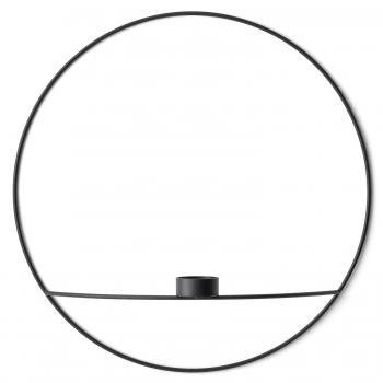 Designové nástěnné svícny POV Circle Tealight Candle Holder