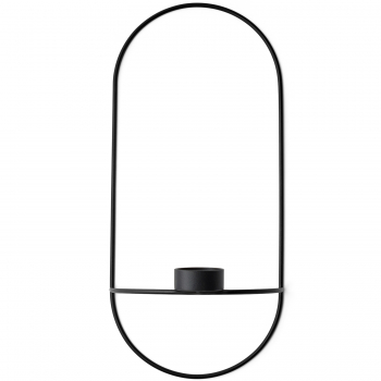 Designové nástěnné svícny POV Oval Tealight Candle Holder