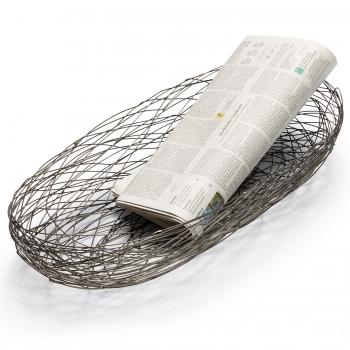 Designové drátěné koše Nest