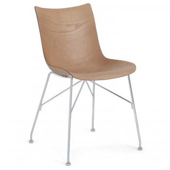 Designové jídelní židle Kartell P/Wood