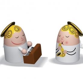 Designové figurky Angels Band 2