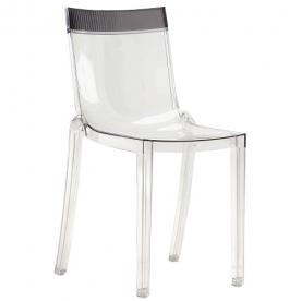 Výprodej Kartell designová židle Hi Cut (kouřová)