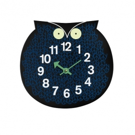 Designové dětské nástěnné hodiny Omar The Owl