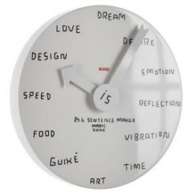 Designové nástěnné hodiny Blank Wall Clock