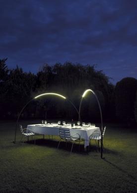 Designová venkovní svítidla Halley