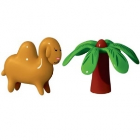 Designové figurky Dario Dromedario and Palmita