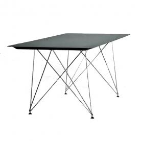 Designové jídelní stoly Uhlík