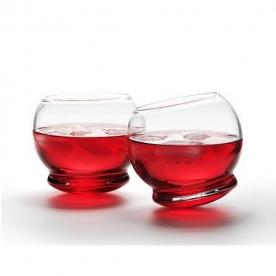 Designové sklenice na whisky NORMANN-COPENHAGEN Rocking Glass (4 pcs)