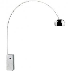 Designové stojací lampy Arco