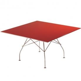 Designové jídelní stoly Glossy čtvercové