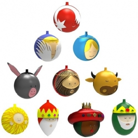 Designové vánoční ozdoby Palle Presepe