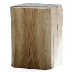 Designové odkládací stolky Block Hocker