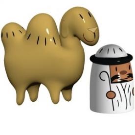 Designové figurky Amir & Camelus