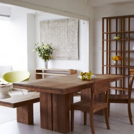 Ethnicraft designové jídelní stoly Double Dining Table (180 x 90 cm)