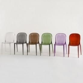 Výprodej Kartell designové židle Thalya (kouřová)
