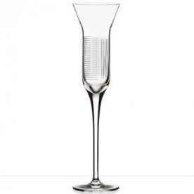 Designové sklenice na šampaňské Lines Champagne Flute