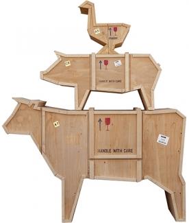 Designové úložné prostory Sending Animals