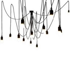 Designová závěsná svítidla Maman