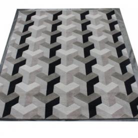 Designové koberce Verner Panton Ypsilon Grey Silk