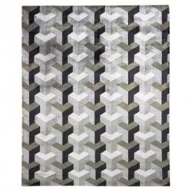 Designové koberce Verner Panton Ypsilon Grey Wool