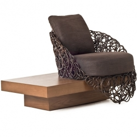 Designová křesla Noodle Easy Armchair With Platform