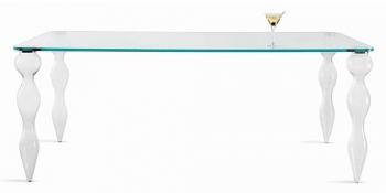 Designové jídelní stoly Blow odbelníkové
