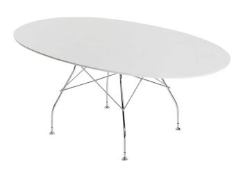Designové jídelní stoly Glossy oválné