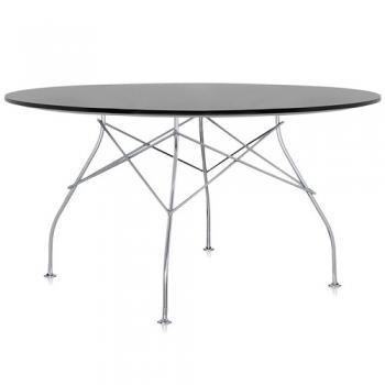 Designové jídelní stoly Glossy kulaté