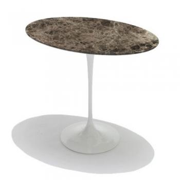 Designové odkládací stolky Tulip Side Table oválné