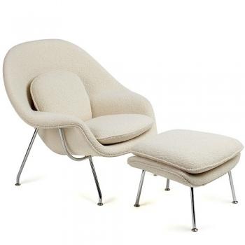 Designová křesla Womb Chair & Ottoman