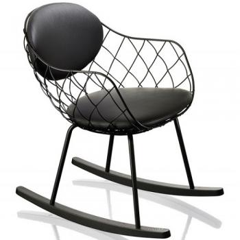 Designová houpací křesla MAGIS Piňa Rocking Chair