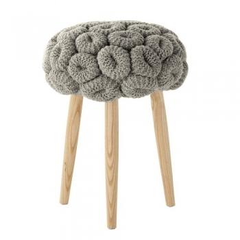 Designové stoličky Knitted Stools