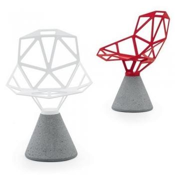 Designové zahradní židle One Chair Concrete Base