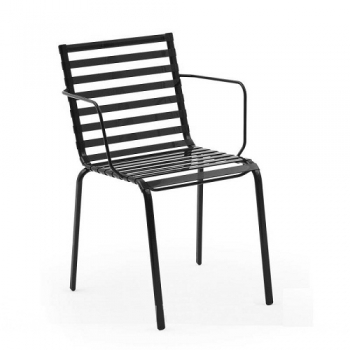 Designové zahradní židle Striped Sedia