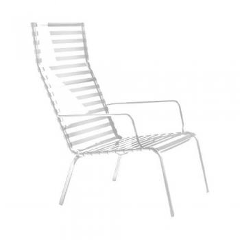 Designová zahradní křesla Striped Poltroncina High Back