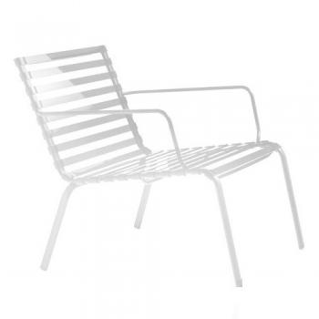 Designová zahradní křesla Striped Poltroncina Low Back