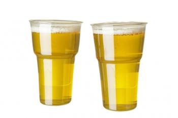 Designové sklenice na vodu QUBUS Beer Cup