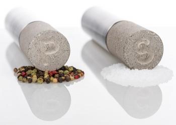 Designové mlýnky na sůl a pepř S + P