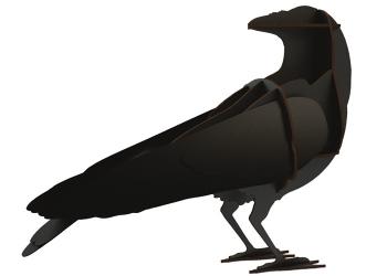 Designové dekorace Ravens - Gustav